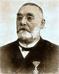 Carl von Pohnert (starosta Mostu listopad 1877 - prosinec 1909). Otec hromadné dopravy na Mostecku