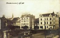 Waldsteinské náměstí v Litvínově