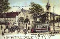 Vize lomských -tramwaj až do Lomu