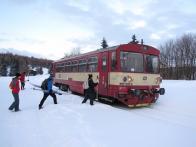 Vlakem na Moldavu i v pracovní dny