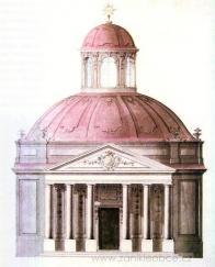 Andreas Altomonte-návrh hraběcí kaple.