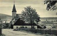 Velká mešní pseudogotická kaple byla zničená 12.3.1964