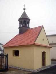 Kaplička v Loučné po rekonstrukci