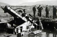 Zničený flak nedaleko obce Souš