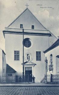 Klášter kapucínů s kostelem Nanebevzetí Panny Marie