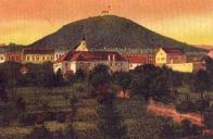 Klášter stával v Jezerním předměstí