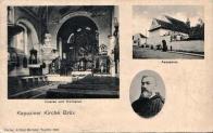 Klášter kapucínů s kostelem Nanebevzetí Panny Marie byl zbourán spolu s Královským městem Mostem v r.1968