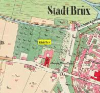 Na mapě z r.1845
