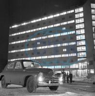 Noční a moc povedený snímek snímek 22.12.1957.