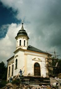 Kostelík byl v 90.letech opravený