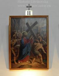 Pán Ježíš na sebe bere kříž