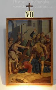 Pán Ježíš padá podruhé
