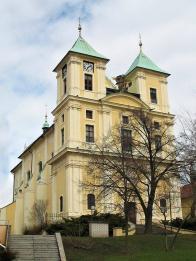 O postavení litvínovského chrámu se zasloužil tehdejší pražský arcibiskup Jan Bedřich z Valdštejna. Architektem raně barokní stavby byl malíř a architekt Jan Baptista Mathey, původem z Francie
