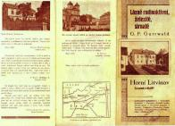 Výseč z titulní stránky propagačního leporela Gutwaldových lázni