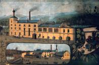 Pivovar, zde již v barokní době za Valdštejnů jenž jej na sklonku 19. století nechali strhnout, aby ho nahradila nová budova. Nová stavba pod Nuskovým vedením vznikala v letech 1889