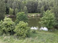 Loupnice - vodní plocha na snímku z r. 2008