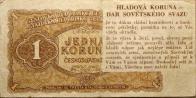 """Tak ty letáčky, to byly vlastně papírové peníze, s textem připomínající dnešní měnovou reformu. Hladová koruna byla v mnohamiliónovém množství shazována s velikých balónů, které vypustilo v Západním Německu české oddělení radiostanice """"Svobodná Evropa"""". Právě včera, t. j. v sobotu, mluvil v čs. rozhlase prezident Antonín Zápotocký a zdůrazňoval, že se říká, že u nás dojde k finančnímu krachu, k nějaké peněžní reformě:""""Ne, naše měna je tak pevná, jak dosud nikdy nebyla! Když někdo říká opak, je to lež!"""""""