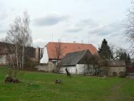 Janhův mlýn stojí a slouží k bydlení.Stav v r.2010.