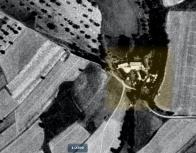 Jakubův mlýn na leteckém snímkování z r.1938.