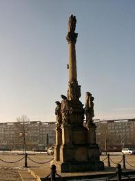 Pro mostecké měšťany byl sloup upomínkou na více než jedenáct set obětí nákazy z roku 1680