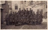 Horní Litvínov policie, foto M. Liehmann  Četníci někde okolo roku 1925 - mají ještě rakouské pušky