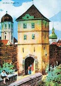 Pražská brána, u níž roku 1515 při velkém požáru došlo k velkému masakru, zanikla v roce 1829