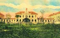 Městská nemocnice císaře Františka Josefa I.kolem roku 1912