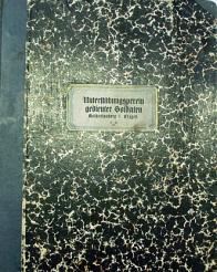 Titulní strana bohatě ilustrované kroniky Verband ehemaliger Artilleristen - Brüx