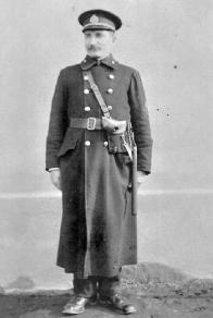 Strážník MP H.Litvínova Josef Landgraf