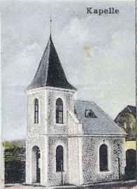 Mikulovická kaple z r.1908 na obraze