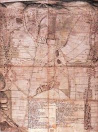 Panoramatická kolorovaná mapa silnic v okolí Janova z r. 1670. První zmínka o cestě mezi Freibergem a Mostem s označením antiqua Bohemiae semita se objevuje k roku 1185 v opise rozsahu majetku kláštera Altzella v Sasku. Její vznik byl patrně úzce svázán s počátky rudného dolování u Freibergu kolem roku 1160 a zároveň v sobě odráží i rozvoj osídlení této části Krušných hor a kolonizační úsilí Hrabišiců. Ti k roku 1297 drželi trhové sídliště v Saydě a další okolní vsi, byli zakladateli hradů Borschenstein (dnešní Purschenstein u Neuhausenu) a Rechenberg u Holzhau. Existence středověké cesty z Mostu do Freibergu je spolehlivě prokázána od počátku 13. století.