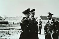 Nacisté na Osadě u dnešní Citadely