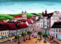 Náměstí Svobody v Litvínově