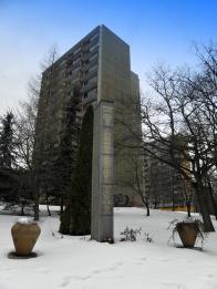 Památník obětem fašismu ze Záluží 1938-1945