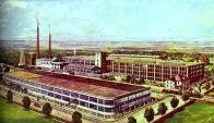 Tovární komplex do dnešních dnů znám jako Schoeller. Jižní starší blok budován v r. 1900