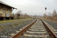 Později bylo zredukováno kolejiště stanice Jirkov