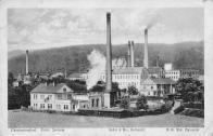 Pohled na Litvínovskou elektrárnu od jihu