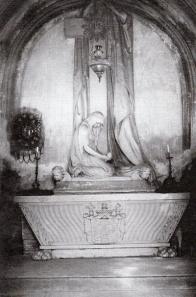 Pohřební kaple Valdštejnů - interiér