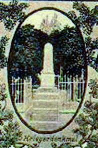Pohlednice z pomníčkem neznámého data.Poděkování za ni, patří Josefu Poštovi z Chudeřína.