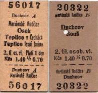 Historické jízdenky z 25. května 1968