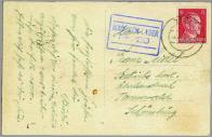 Lístek z mosteckého lágru
