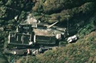 Letecký snímek.