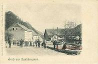Továrna Teibler a Seemann na Šumné ( budova vpravo )