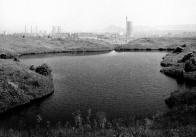 Bylo zde v provozu několik hlubinných dolů a byla tu i dosti zvláštní krajina, taková zemědělsko-průmyslová step, plná už ne příliš obdělávaných polí, menších i větších vodních propadlin a kulatých kráterů po spojeneckých bombách, naplněných povrchovou vodou, které byly plné života