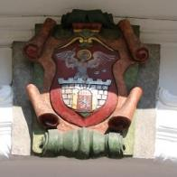 Na snímku radnice, přibližně v době na sklonku Rakouska-Uherska