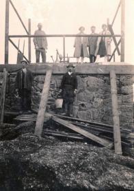 Stavba rozhledny v r.1928