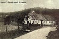 Schubertův hostinec na Křižatkách. Založen snad už v 18. století.