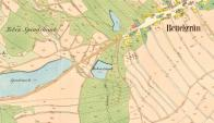 Mapa z 1. poloviny 19.století