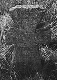 Původní kříž