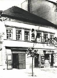 Bývalá budova archivu čp. 176 ve starém Mostě